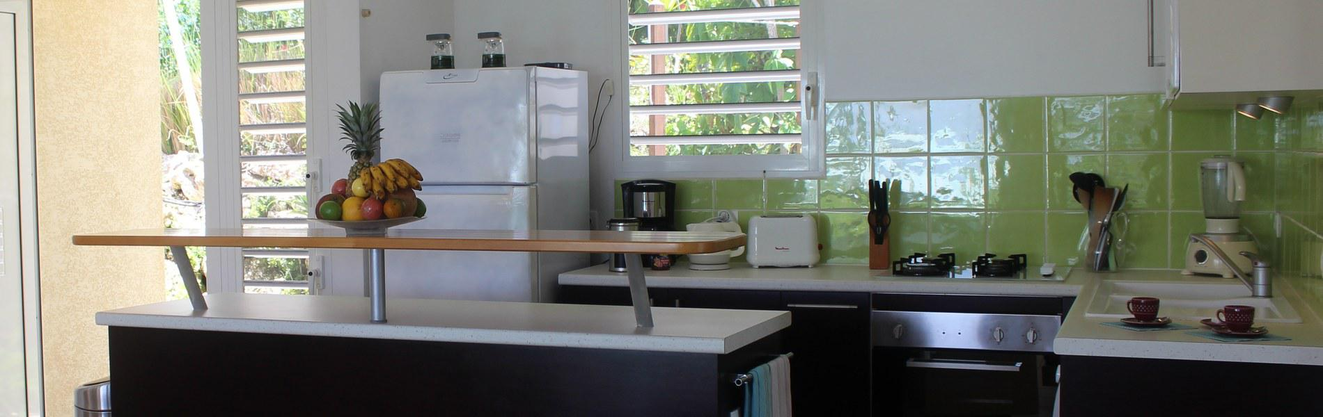 cuisine de la villa iguane house villa avec cuisine. Black Bedroom Furniture Sets. Home Design Ideas